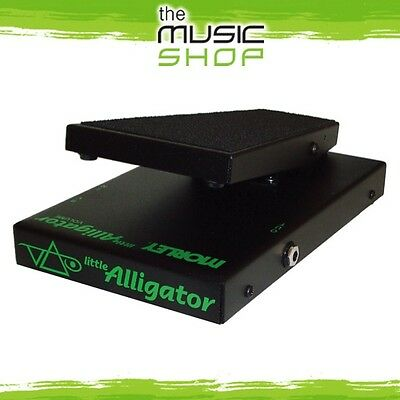 Morley Steve Vai Little Alligator Volume Pedal - PLA - Guitar, Bass or Keyboard
