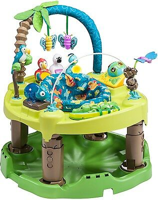 Evenflo ExerSaucer Triple Fun Saucer In Life In The Amazon, NEW Activity Center