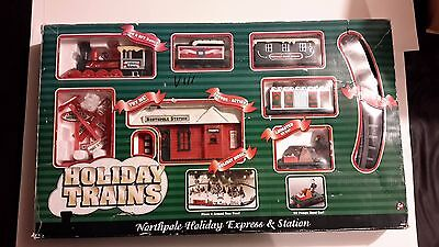 Holiday Trains - Northpole Holiday Express & Station with sounds and much more