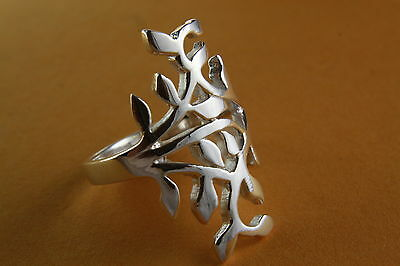 Design Celtic Gothic Ring Silver 925 Silver Ring / 424