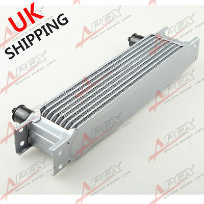 Universal 9 Row AN10 AN-10 10AN Engine Transmission Oil Cooler Silver UK