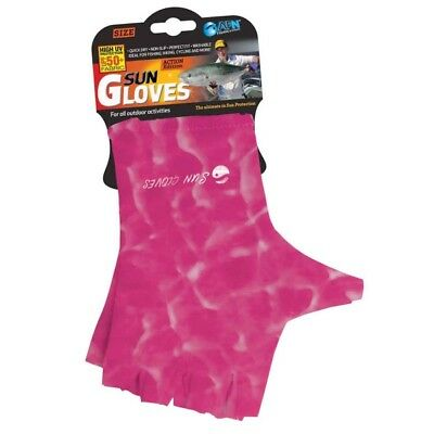 Sun Gloves 50+ UPF Protection (Water Pink)-SYD Stock