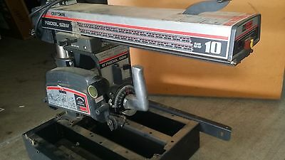 "SEARS CRAFTSMAN 10"" RADIAL ARM SAW 2.5hp"