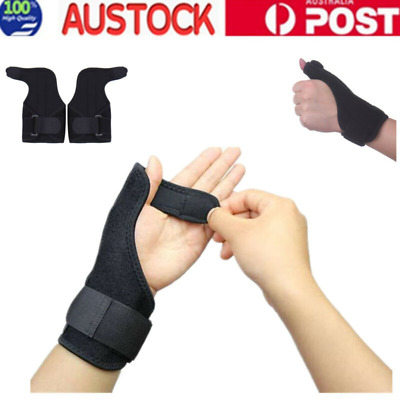 Wrist Support Splint Carpal Steel Tunnel Syndrome Sprain Strain Bandage Brace