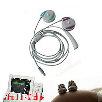 3 in 1 Probe, TOCO FHR Fetal Movement Probe for CONTEC Fetal MonitorING CMS800G