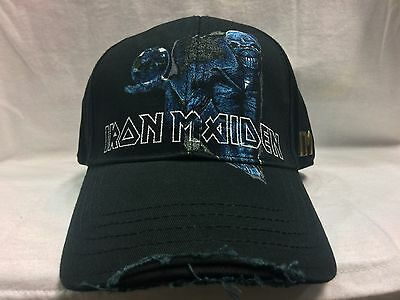 Official Licensed - Iron Maiden - Different World Adjustable Baseball Cap Metal
