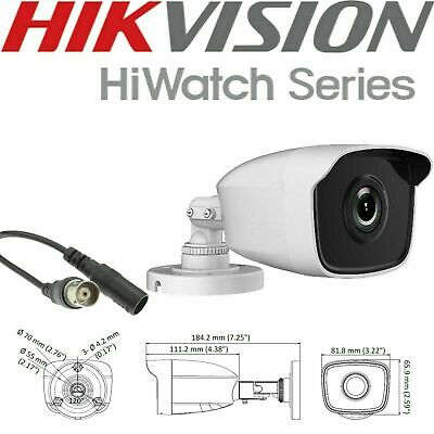 Hikvision DS-2CE16D0T-IT3 Turbo HD 1080p 40M EXIR CCTV Turret Camera in/ outdoor