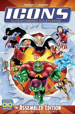Green Ronin Icons Icons - Superpowered Roleplaying (Assembled Edition) HC MINT