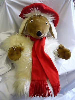"Orinoco Wombles 23"" hot water bottle / pajama cover plush - Boots"