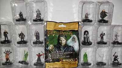 Wizkids Heroclix Lord Of The Rings Return Of The King Set Of (16) Figures