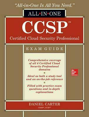 CCSP Certified Cloud Security Professional All-in-One Exam Guide by Daniel Carte