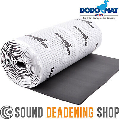 "6m Roll Car Van Insulation Sound Proofing Deadening 6mm 1/4""  Foam Liner"