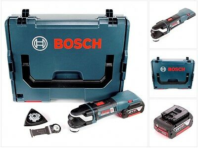 Bosch GOP 18 V-28 Professional Brushless Akku Multi Cutter Starlock Plus im Set