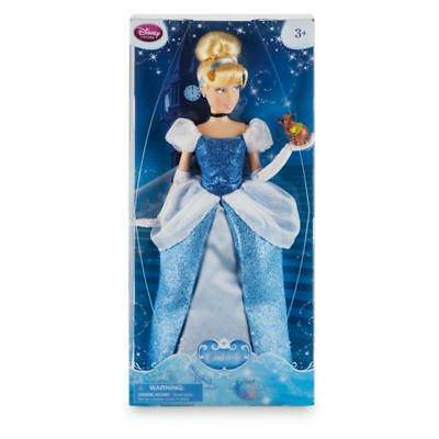 New Official Disney Cinderella 31cm Classic Doll Figure With Gus