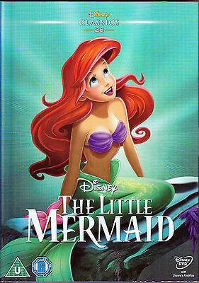 The Little Mermaid with Ltd edition shiny sleeve New & Sealed Disney Classic DVD