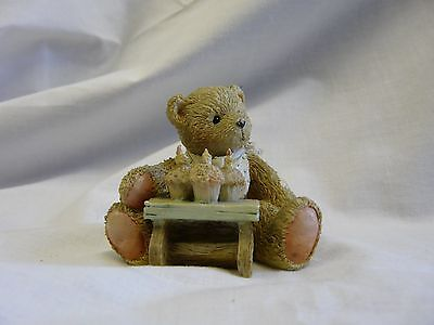 Collectable Figurine * Age 3 * #911313 Cherished Teddies By P Hillman 1992