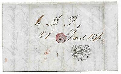 Collection of 17 Victorian Letters, Newcastle to Marseille