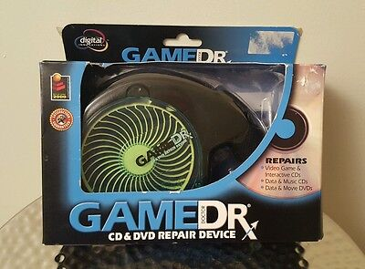 Used Game Doctor Dr Cd Dvd Disc Repair Device Machine Skip Scracth Video Game