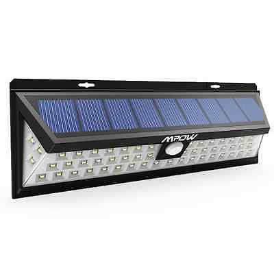 54 LED Security Garden Solar light , Mpow Solar Wall Lights Outdoor Waterproof S