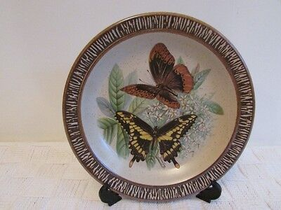 Purbeck Pottery Butterfly Plate