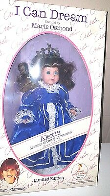 """Marie Osmond I Can Dream Doll """"ALEXIS"""" dreams of being a princess"""