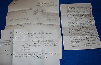 3 Documents Related to Henry Edward Butler Who Died in Natal, 1863