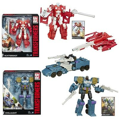 Transformers Generations Combiner Wars Scattershot & Onslaught Toy Action Figure