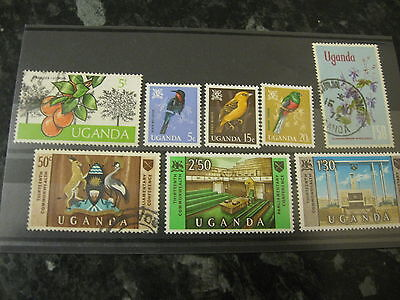 Selection Of Stamps From Uganda, Top Quality,, Pack 1, Post Paid