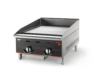 "Vollrath 972GGT Cayenne 72"" Thermostatic Griddle Flat Top Natural Gas"