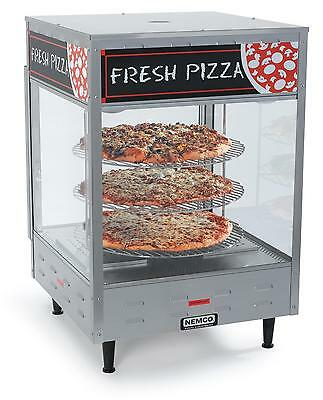 Nemco 6451-2 Pass Thru Self Serve Pizza Merchandiser w/ Three 18in Racks