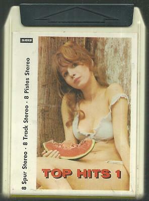 8-Track / 8-Spur Tonband : Top Hits #1 (Led Zeppelin, Kinks, Mungo Jerry, Equals