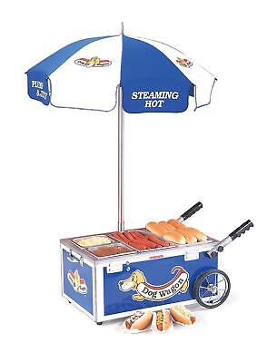 Nemco 6550 Decorative Countertop Hot Dog Merchandiser & Steamer