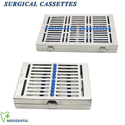 Dental Dentist Tools Instruments Tray holder Sterilisation Cassettes For 10, 20