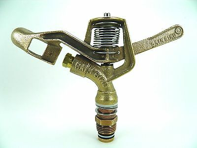 "11 New Rain Bird #29Jh 1/2"" Brass Impact Sprinklers Run On Wide Array Of Nozzles"