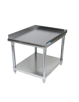 "BK Resources VETS-2430 Economy 24"" x 30"" Stainless Kitchen Equipment Stand"