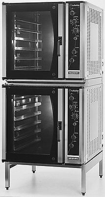 Moffat E35D6-26/2C Electric Double Convection Oven Full Size w/ Mobile Stand