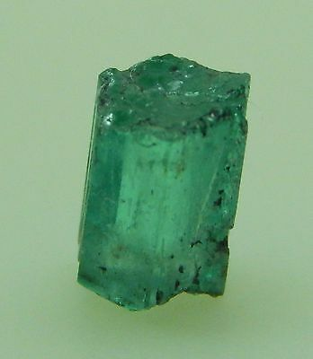 1.23Ct FINE MATRIX ROUGH NATURAL EMERALD FROM COLOMBIA!! 7.21x4.91mm/2939/FR
