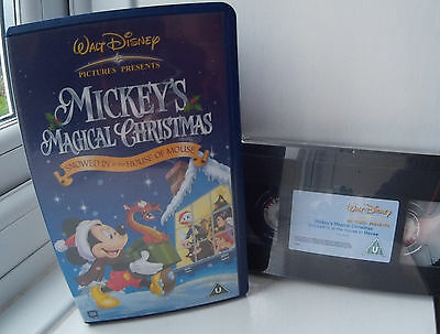 Mickey's Magical Christmas New & Sealed Disney VHS Video