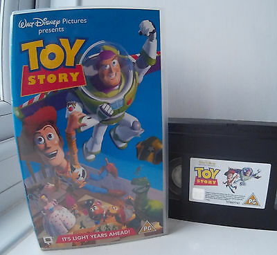 Toy Story Disney / Pixar VHS Video