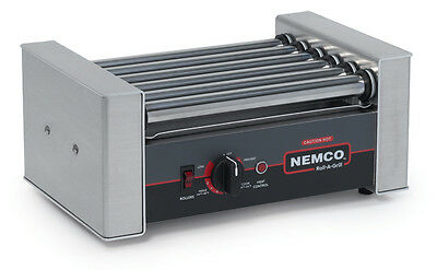 Nemco 10 Hot Dog Roller Grill Electric Concession Equipment - 8010