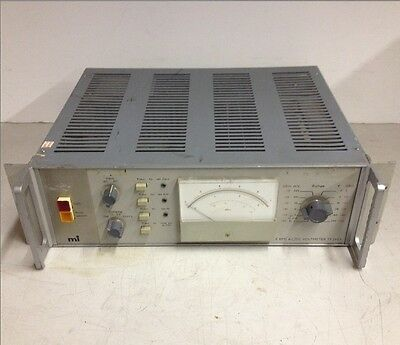 Marconi Instrument LTD S-3A Programmable RMS AC/DC Voltmeter TF 2607 For Parts