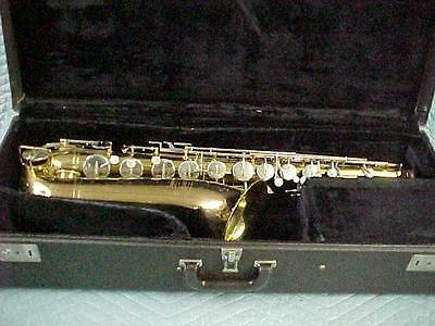 Bundy by Selmer Tenor Saxophone, Excellent Ready to Play Condition!
