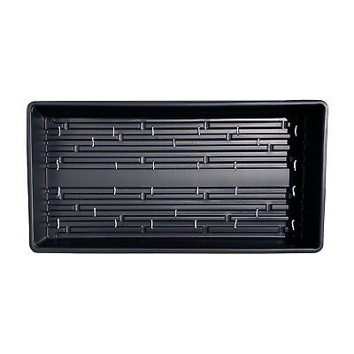 100 Heavyweight Seed Starting Trays MADE IN USA Garden Greenhouse WITH HOLES