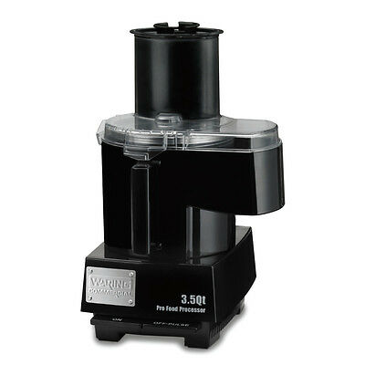 Waring WFP14SC 3.5 Quart Food Processor Continuous Feed with Batch Bowl