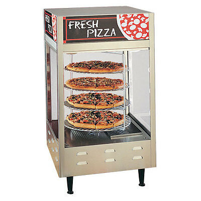 Nemco 6452 Rotating Pizza Merchandiser W/ Four 18in Racks