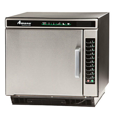 Amana ACE19N 1.2cf Jetwave Convection Xpress S/s Microwave Oven 5300w