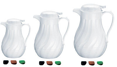Update F3022/40 42oz White Teapots Insulated Servers