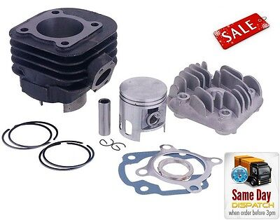 New Barrel Cylinder Kit + Head 70Cc Tuning Sport Ktm Tempo 50 Ac