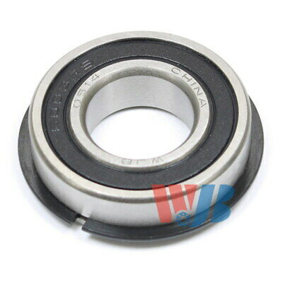 Ball Bearing Wjb 6003-2Rsnr With 2 Rubber Seals & Snap Ring