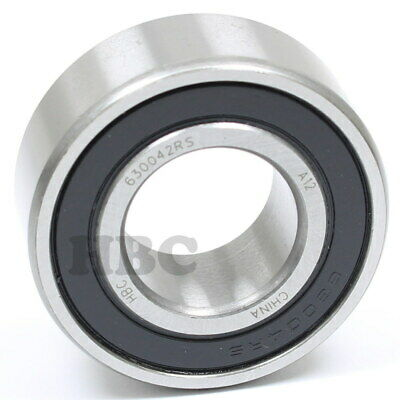 Ball Bearing HBC 63004-2RS Cartridge Type With 2 Rubber Seals  20x42x16mm
